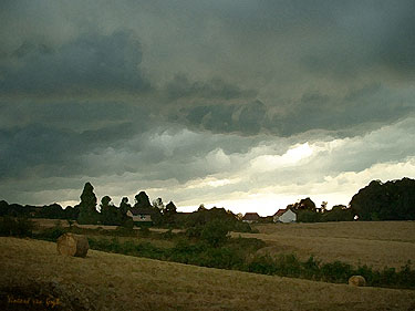 Storm over Cheniers