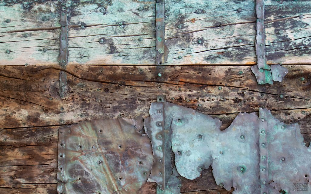 Rusted rudder, Texel